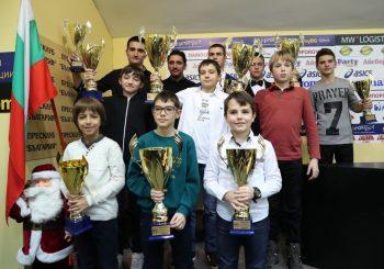 Годишно награждаване на призьорите по картинг за 2016 г.
