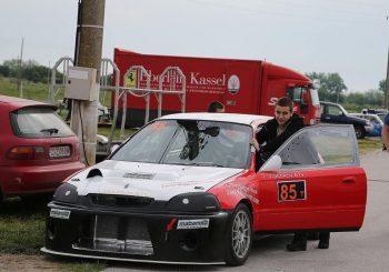 Иван Влъчков на полпозишън на Писта Дракон в Туринг