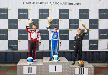 Четирима българи на подиума в Румъния в 3-ия кръг в Букурещ