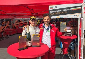 Второ място за Иван Влъчков на Зандвоорт в GT4