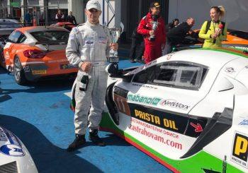 Трето място за Иван Влъчков във второто състезание на Нюрбургринг