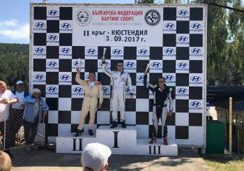 Иван Влъчков спечели втория кръг от Националните картинг серии
