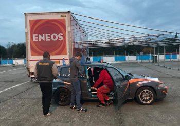 Давид Будев направи тестове с Хонда Сивик за екипа на Влъчков