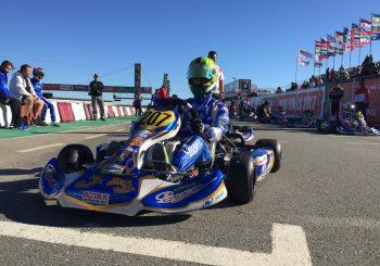 Христо Пенов стигна до големия финал на Rotax в Португалия