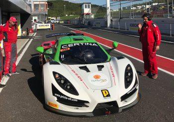 Влъчков проведе успешен тест на пистата Мост преди първия кръг в сериите GT4