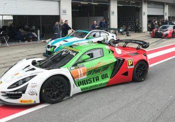 Иван Влъчков не завърши в първото състезание в GT4 след инцидент