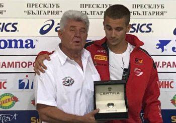 Иван Влъчков със специален подарък за Николай Мончев и Дамасцена Алба