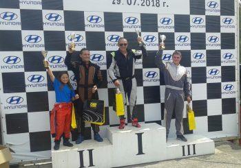 Национални картинг серии – 2018 пети кръг Кюстендил