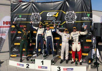 Влъчков и Маршавелов с подиум в първото състезание в GT4 на Словакия Ринг