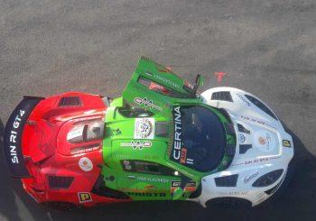 Технически проблем спря Иван Влъчков във второто състезание в GT4