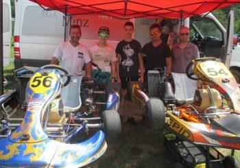 Макси Колев и Йордан Борисов караха в 8-ия Открит ден на картинг спорта