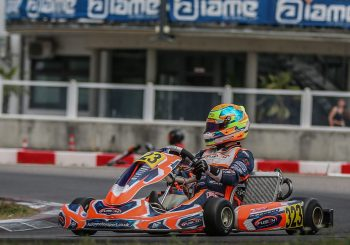 Георги Димитров 5-и в третия кръг от европейските серии IAME X30