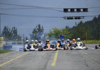 Видео от първия кръг от сезона в Националните картинг серии в Кюстендил