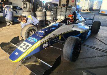 Георги Димитров направи първи тест с болид от Формула 4
