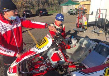 Мартин Стоянов направи първи тест с машина от KZ Junior