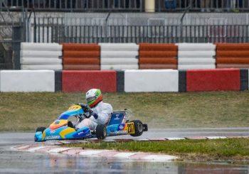 Никола Цолов показа скорост на мокро на Лонато